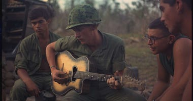 U.S. soldiers during Vietnam