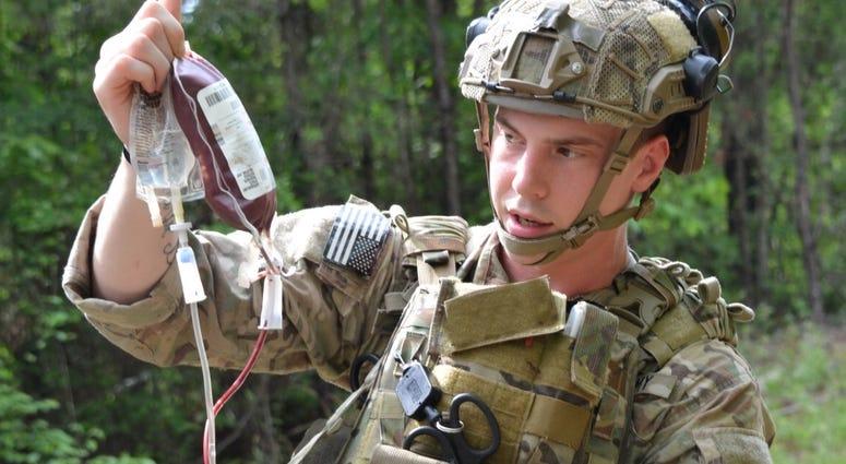 Ranger medic training