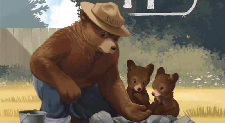 World War Ii Veteran Smokey Bear Turns 75