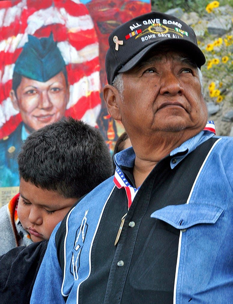 """""""The Warrior Tradition,"""" a new film set to air on most PBS stations Monday, Nov. 11, 2019, examines the history of Native Americans in the U.S. military since World War I."""