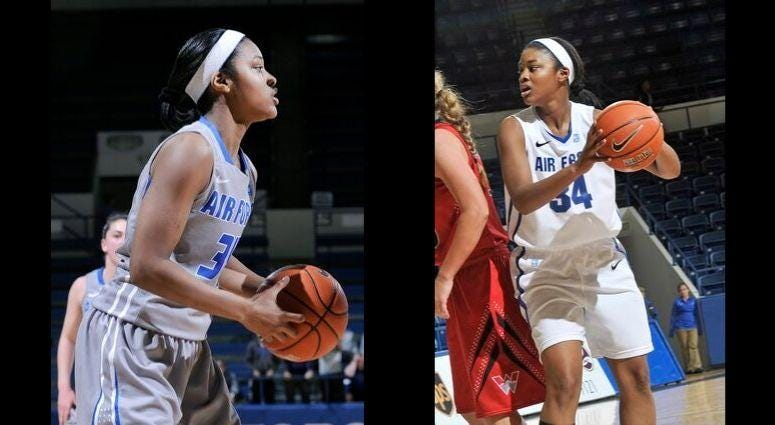 Missy Byrd played basketball for the US Air Force Academy