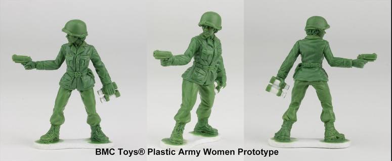 PlasticArmywomenprototypes