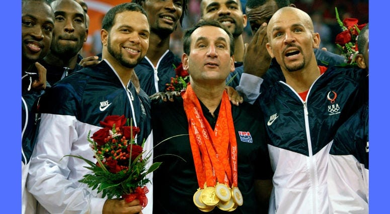 Coach Mike Krzyzewski, Team USA Basketball