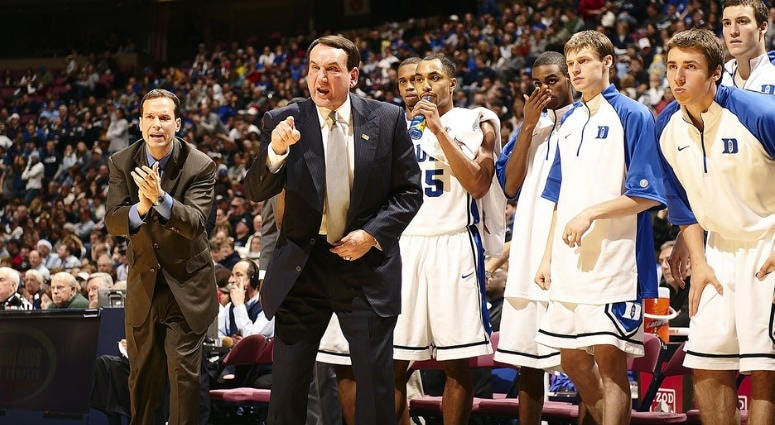 Coach Mike Krzyzewski, Duke Mens Basketball