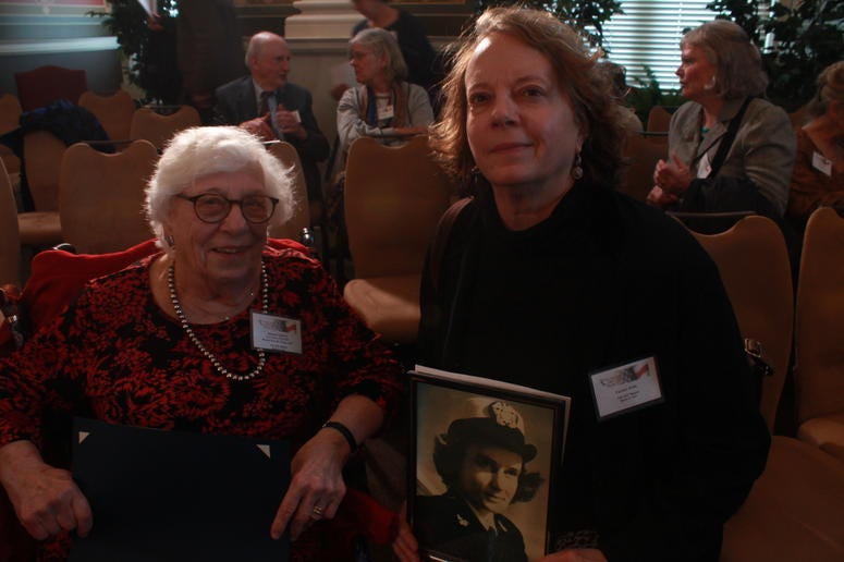 Library of Congress hosts first-ever reunion of women World War II veterans