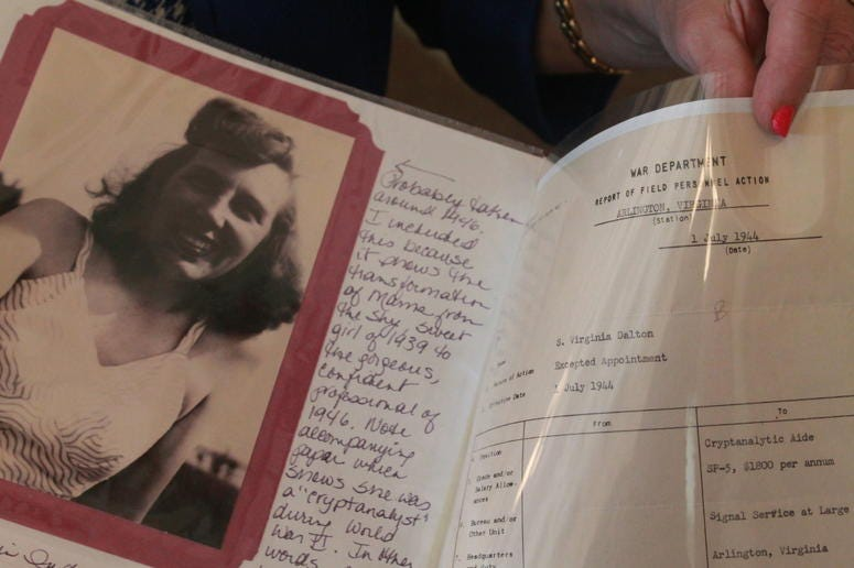 Library of Congress holds reunion for World War II code breakers