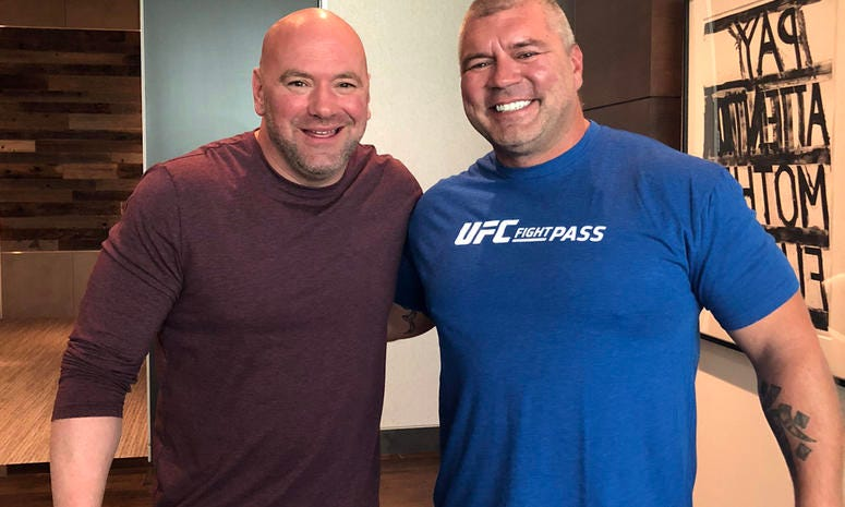 UFC President Dana White and Titan FC COO Lex McMahon