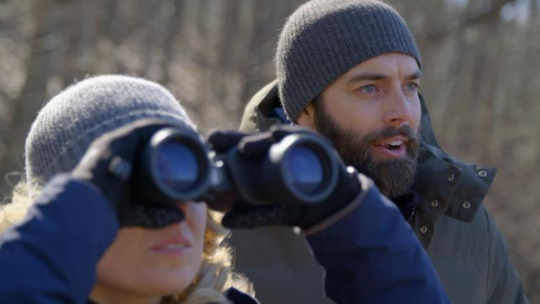 Nick Karnaze and Sarah Cruddas investigate UFO sightings on Discovery Channel's Contact