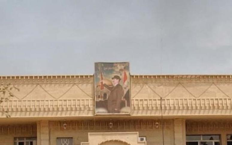 Saddam Hussein painting
