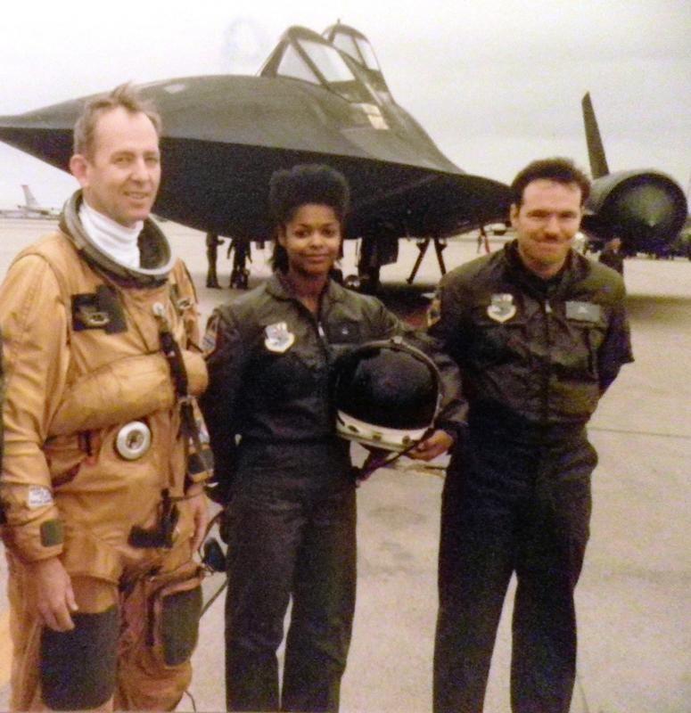 Sharon McDougle, Air Force veteran and NASA suit technician