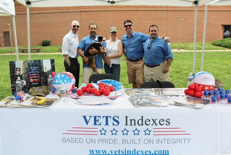 Vets Indexes provides investment indexes focused on veteran employers