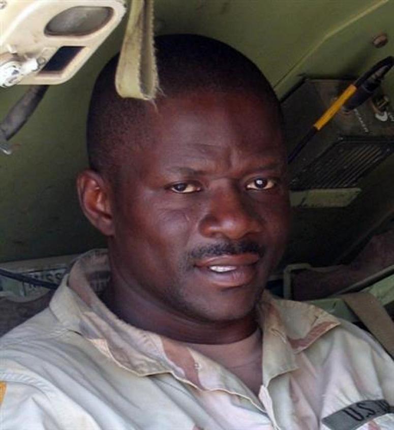 Sgt. 1st Class Alwyn Cashe, in an undated photo