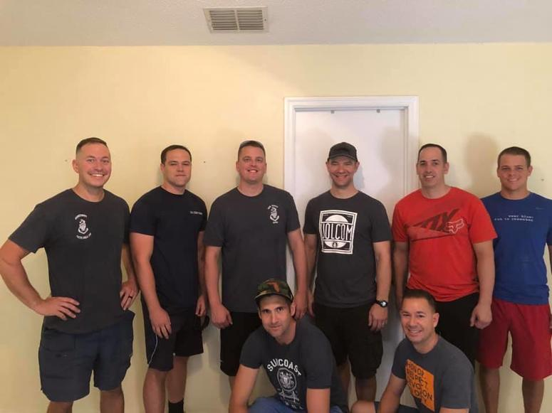 Moving with Military volunteers