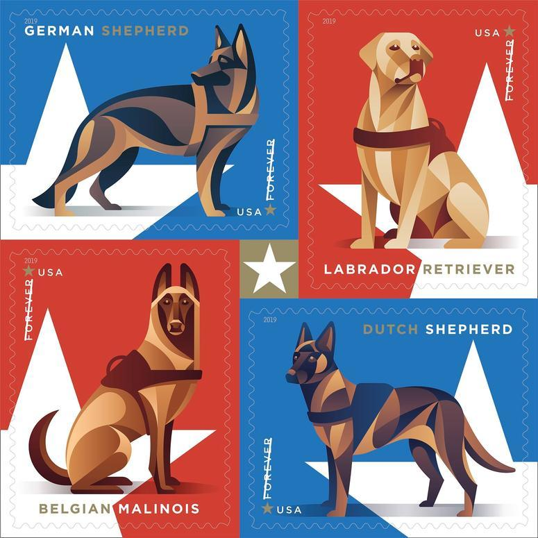 Military Working Dog Forever Stamp