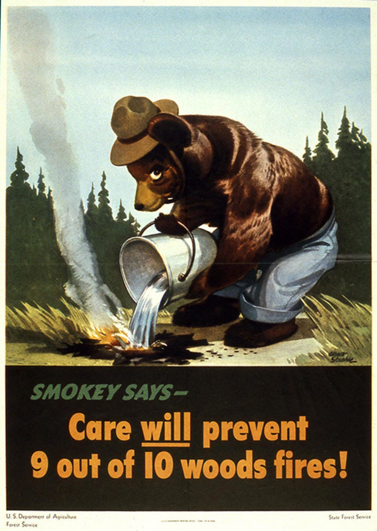 Smokey ad