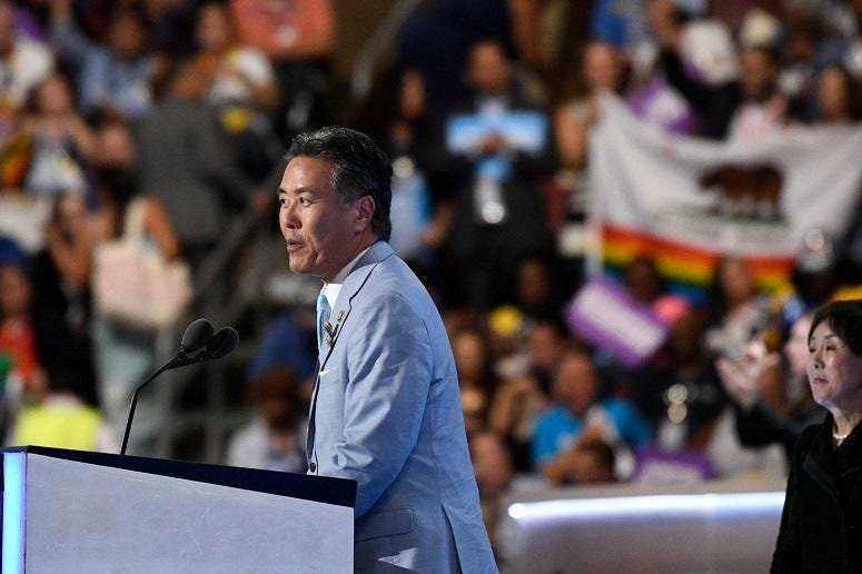 """House Veterans Affairs Chairman Rep. Mark Takano, (D-Calif.) has made legislation for """"blue water"""" Navy veterans a priority."""