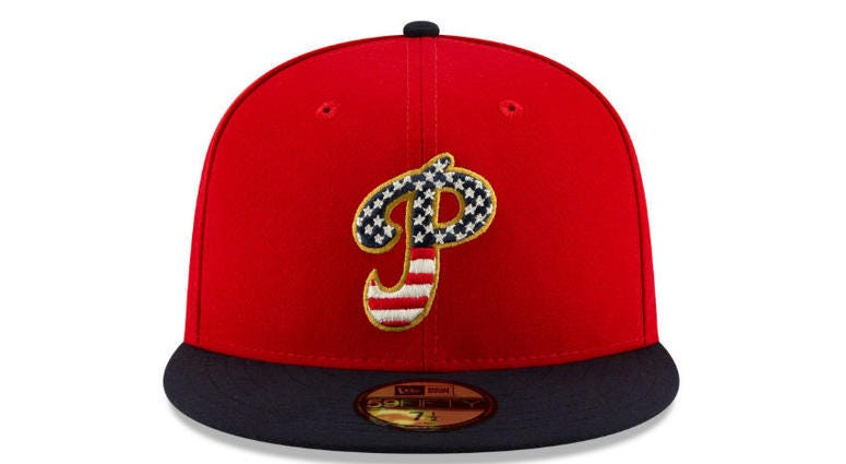 MLB will celebrate the Fourth of July with special America hats.