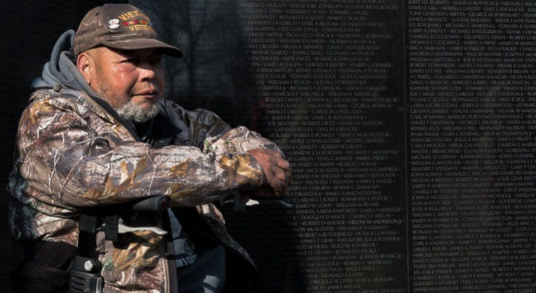 Retired Vietnam veteran