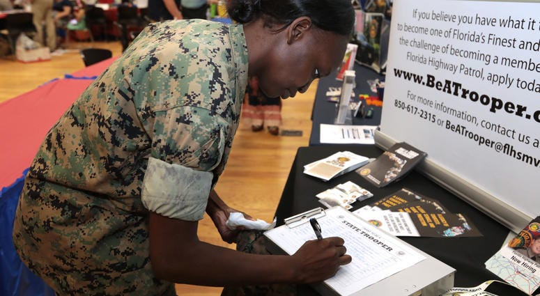 Marine Corps Career Fair