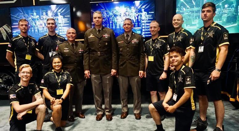 Army esports team