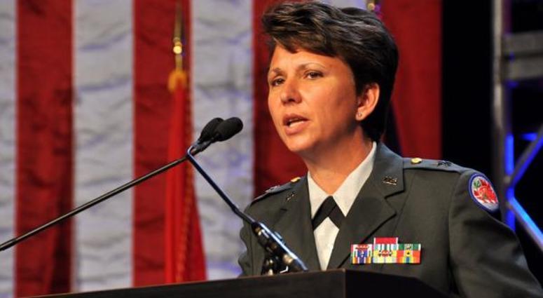 Maj. Gen. Maria Britt