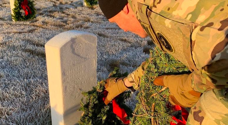Joint Base Elmendorf-Richardson Wreaths Across America