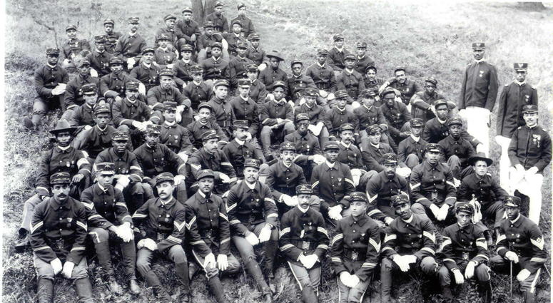 African American National Guard unit based out of Chicago that fought in World War I