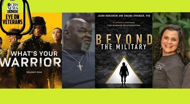 Jessica Manfre on Giving Tuesday, Army debuts What's Your Warrior, Easterseals save Marine from addiction and Shauna Springer new book Beyond the Military