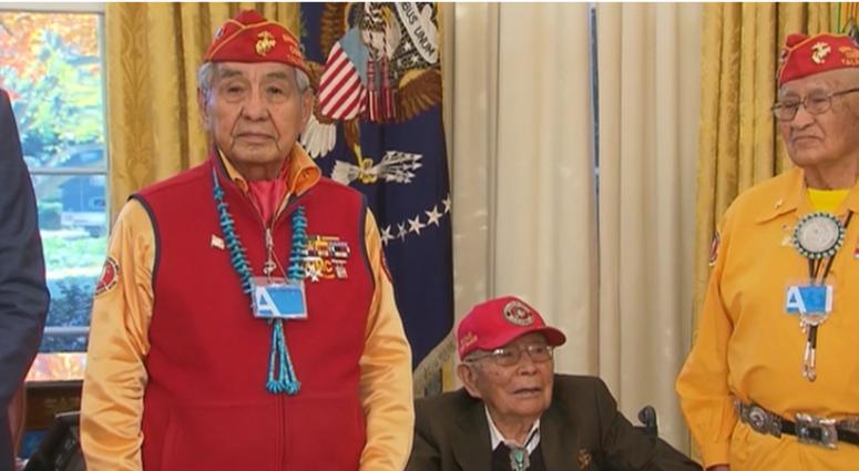 WWII-era Navajo Code Talker Fleming Begaye Sr. dies at 97