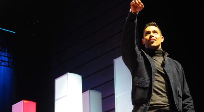 Wilmer Valderrama hosts USO Takeover at The Wharf