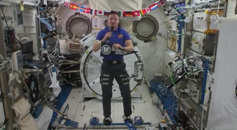 Col Morgan, International Space Station
