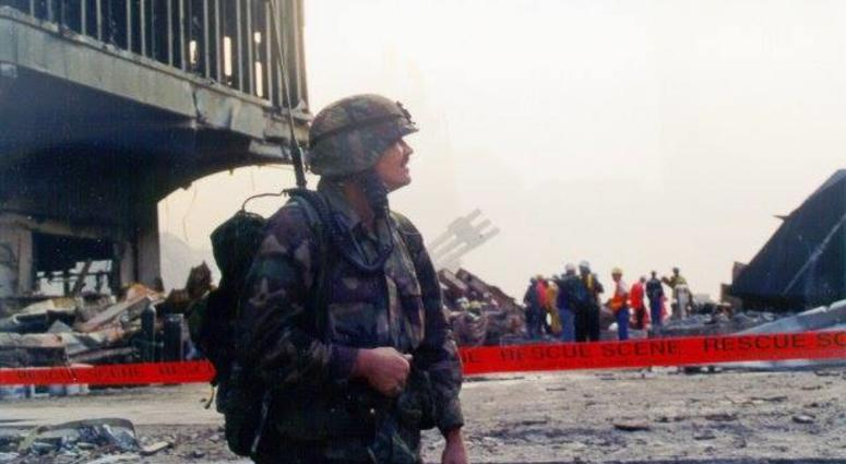 John Byrnes at Ground Zero