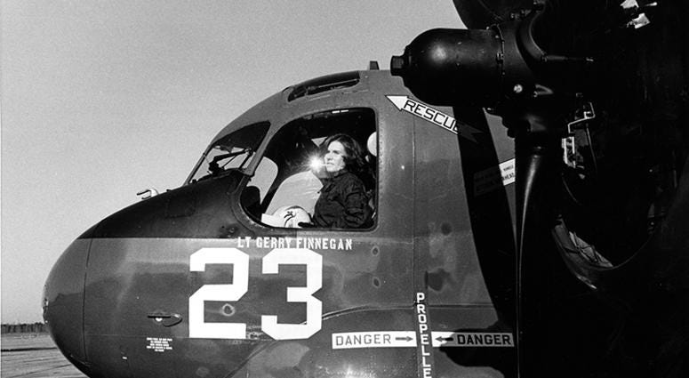 Navy's first female jet pilot dies at 65 after losing battle with ovarian cancer