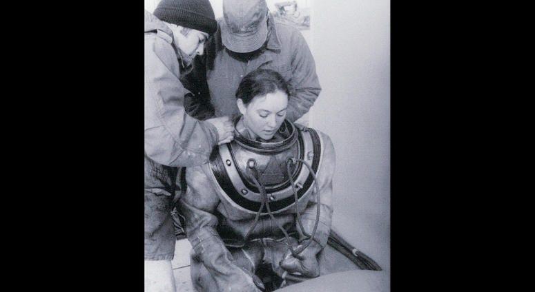 Donna Tobias, U.S. Navy woman diver