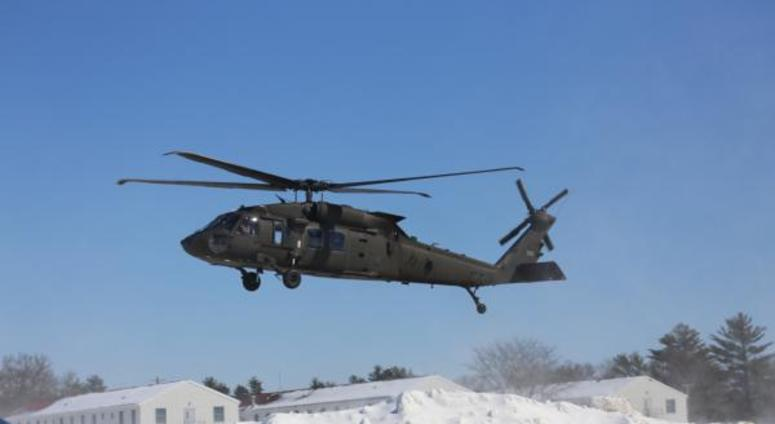 Wisconsin National Guard helicopter