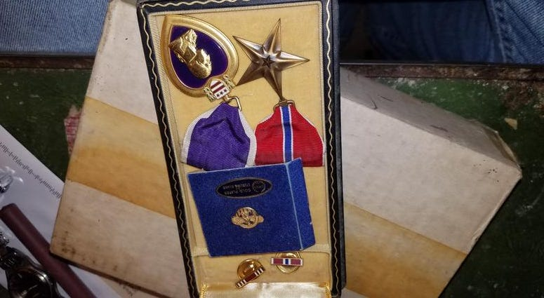 Walter's Purple Heart