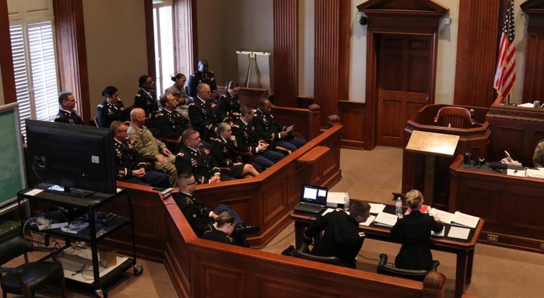 Court Martial training in Alabama