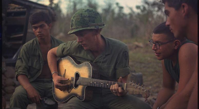 U.S. soldiers during Vietnam