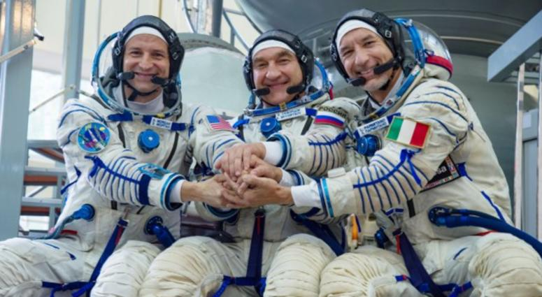 At the Gagarin Cosmonaut Training Center in Star City, Russia, Expedition 58 backup crew members