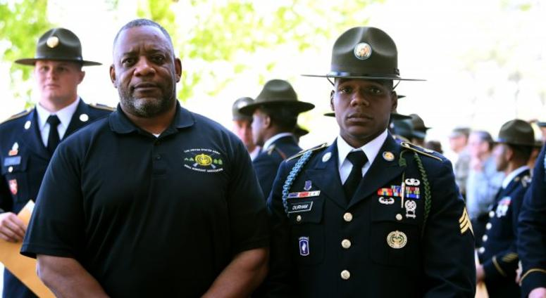 Drill sergeant carries on a Family tradition