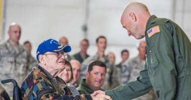 Caleb Craft has raised nearly $4,500 for Missouri Veterans Home.