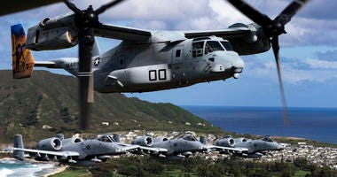 Warthogs take over Hawaiian skies