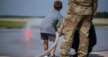 """Take your kid to work day"" at the 179th Airlift Wing"