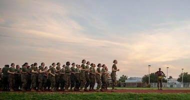 Female Marine Corps Oscar Company
