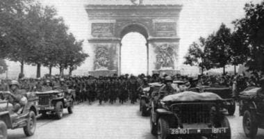Pennsylvania's 28th Infantry Division became the first American division to enter Germany.