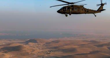 Black Hawk over Syria