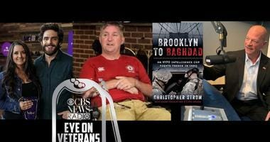 CBS Eye on Veterans Mike Deeley fights ALS, Navy vet Sailor Jerri and Thomas Rhett promote Crown Royal Purple Bag Project and NYPD cop Chris Strom's book Brooklyn to Baghdad