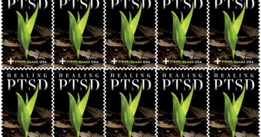 USPS PTSD Stamp