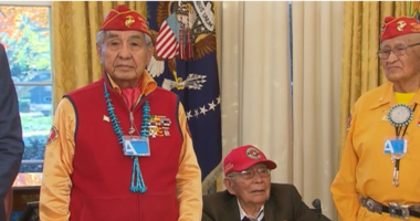 WWII-era Navajo Code Talker Fleming Begaye Sr. dies at 97