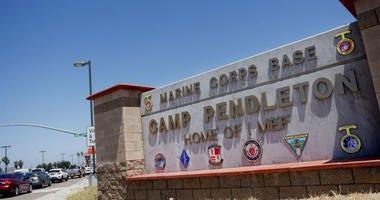 Smugglers offered Camp Pendleton Marines cash to assist smuggle migrants.